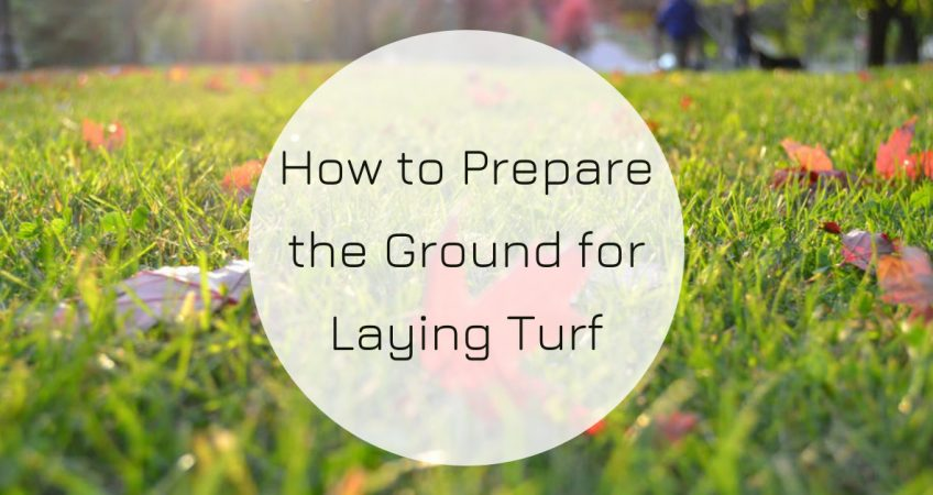 How to Prepare the Ground for Laying Turf