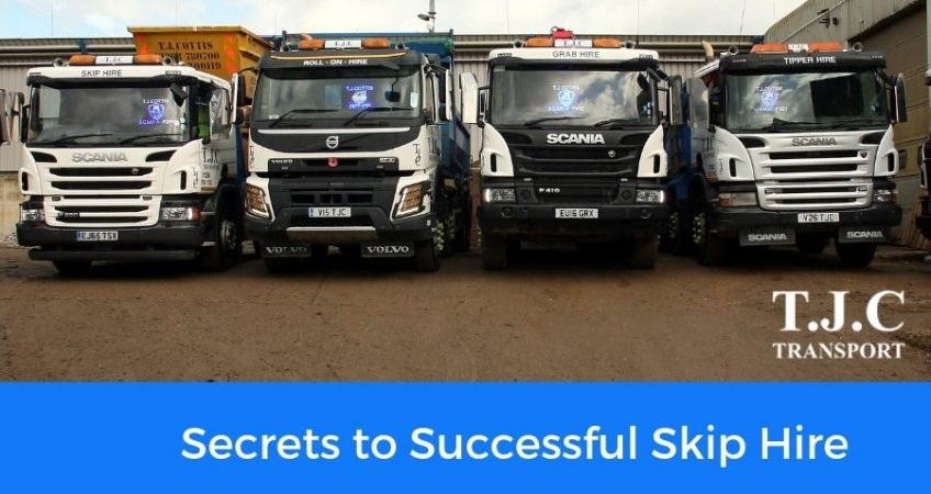 Secrets to Successful Skip Hire - TJC Transport