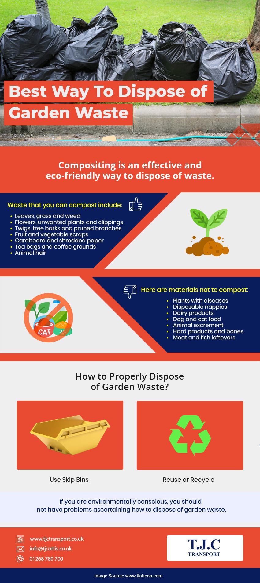 ways to dispose garden waste