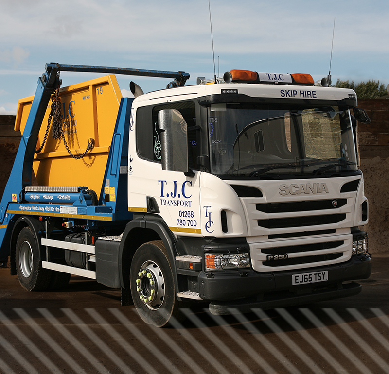 Skip Hire Essex | TJC Transport